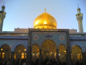 On the Shrine of Hazrat Zainab (R.A.)…